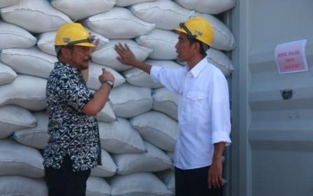 Menteri pertanian - stok beras