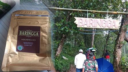 Gerbang Masuk Ke Perkebunan Baringga di Kabupaten Bandung, Jawa Barat