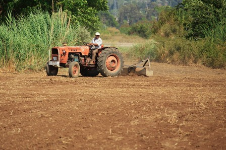 Ilustrasi Traktor Pertanian
