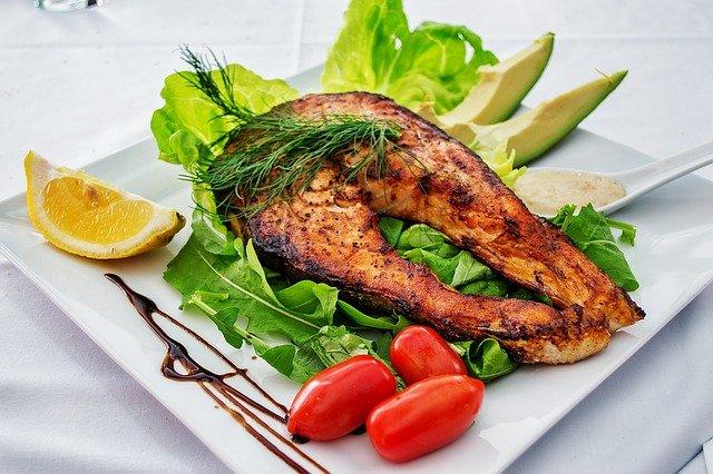 Ilustrasi Makanan Ikan