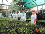 Syahrul yasin limpo resmikan Agro edukasi ragunan