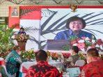 Menteri LHK Siti Nurbaya menyampaikan refleksi kinerja Kementerian LHK selama tahun 2020, dan persiapan langkah sektor LHK tahun 2021, Rabu (30/12/2020). Foto/sindonews