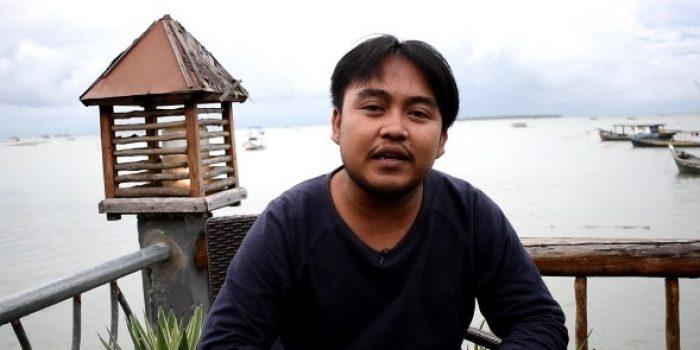 Dede Robi Nur Alam selaku Ketua komunitas APC Banten - Foto : Panen News