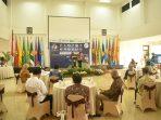 Wahyu Sakti trengono mengisi pengantar Acara Seminar MAI di Unpad